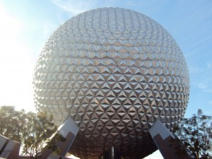 "Spaceship Earth - A ""bola"" do Epcot."