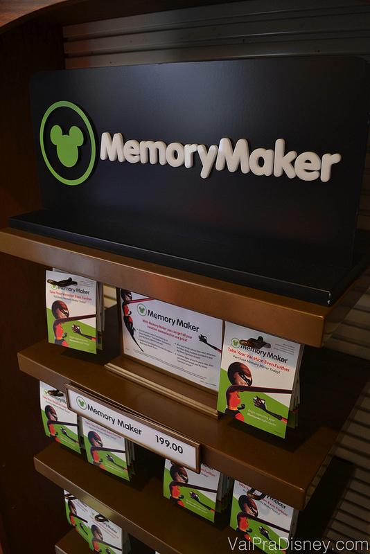 Memory Maker começou a ser vendido por US$199 nas lojas da Disney, mas hoje é vendido por US$169 e se você comprar com antecedência pelo site, pode pagar só US$149.