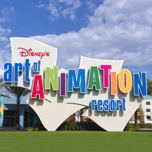 Hotel incrível da Disney!