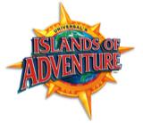 A imagem mostra o logo do Islands of Adventure