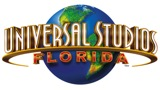 A imagem mostra o logo da Universal Studios Florida