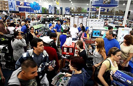 Best Buy: sem dúvida a loja mais cheia da Black Friday em Novembro