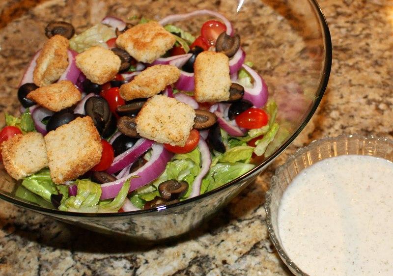 Salada farta - olive garden restaurante barato orlando disney
