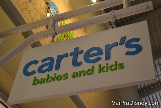 Carter's: roupas básicas, de ótima qualidade e preços.