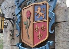 Entrada do restaurante Be Our Guest na Disney