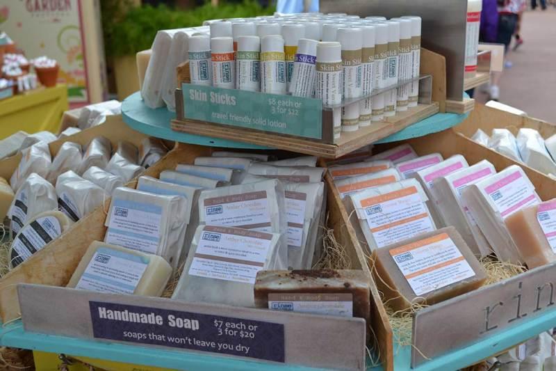 Flower & Garden Festival - Cosméticos vendidos no festival: se gostar, este é tranquilo de trazer na bagagem! :)