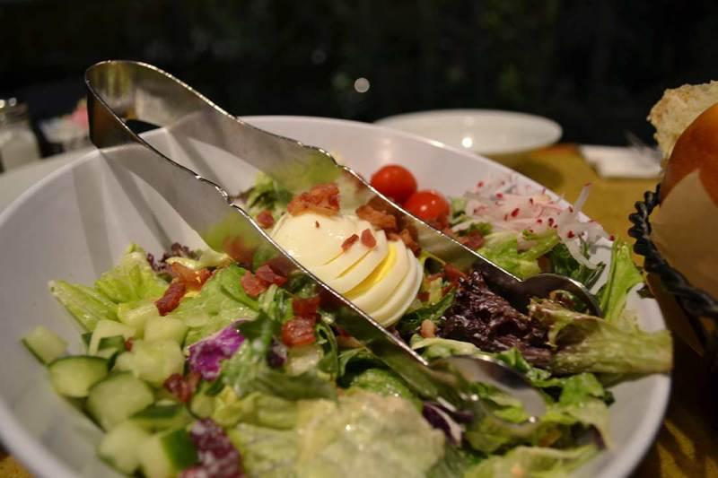 Garden Grill - Salada super fresquinha diretamente da horta para a nossa mesa!