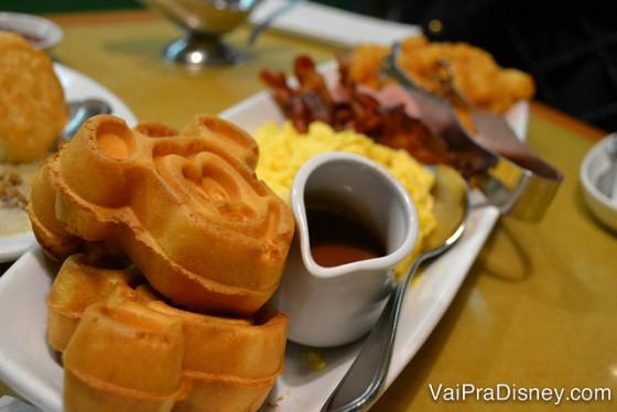 Enquanto almoço e o jantar do Garden Grill é ótimo, o café da manhã é bem mais ou menos.