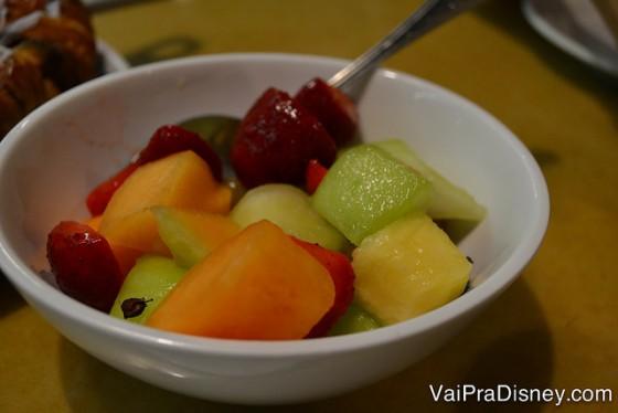 Bowl de frutas.