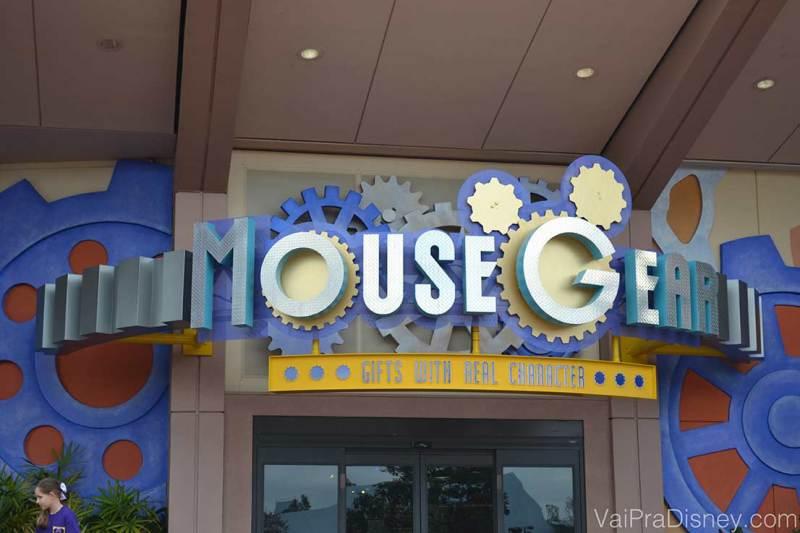 Mouse Gear, no Epcot: uma das lojas mais completas da Disney e com certeza uma das minhas preferidas.