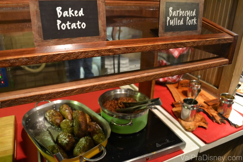 BUFFET DE BAKED POTATO!