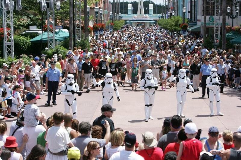 Desfile com os Startroopers