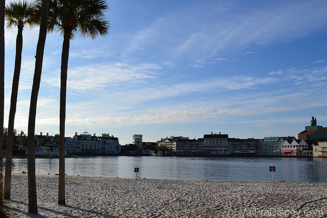 Beach Club: Crescent Lake, que hospeda os 5 hotéis do Disney's Epcot Resort Area