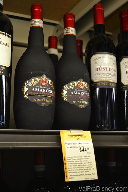 O Amarone Della Valpolicella é o vinho que a Re mais gosta, feito com uvas passa e é super difícil de achar aqui no Brasil por bons preços