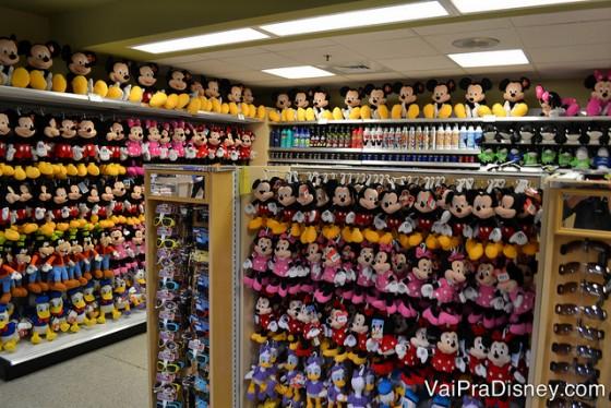 Comprar produtos Disney nos supermercados pode significar uma boa economia no final da viagem!