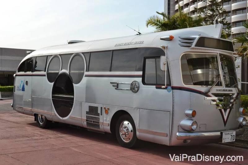 O ônibus gratuito, Disney Resort Cruiser