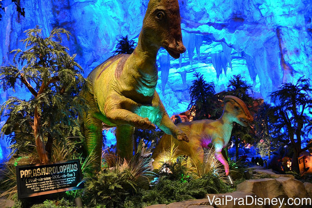 O T-Rex é um dos restaurantes tematizados preferidos das crianças que curte dinossauros. Como um todo, eu gosto mais da proposta do Rainforest.