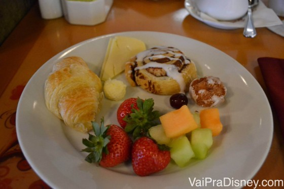 Café da manhã do Akershus.
