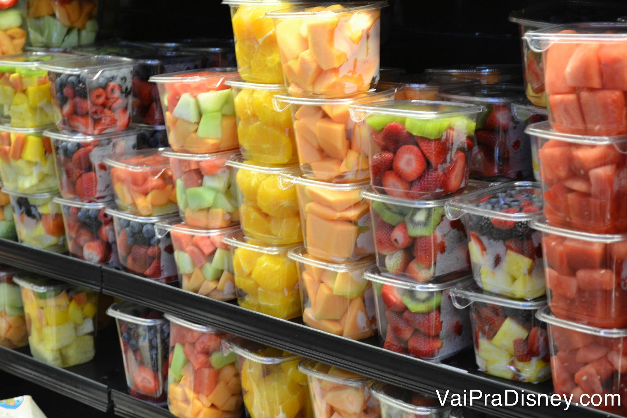 Frutinhas são ótimas opções para lanchinho das crianças.