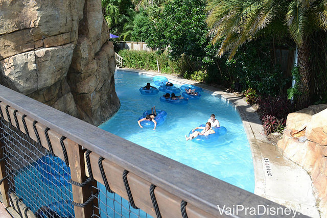 Loggerhead Lane, o lazy river tranquilo do Aquatica