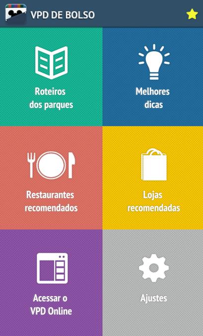 A gente faz a nossa colaboração para conteúdo gratuito para os turistas! No nosso app VPD de Bolso você pode ver todos os roteiros dos parques de graça! ;)