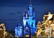 Precisei de muita prática até tirar essa foto do castelo no Magic Kingdom