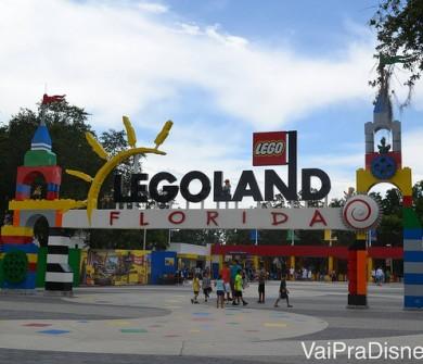 Entrada da Legoland. Belo ponto para tirar fotos!