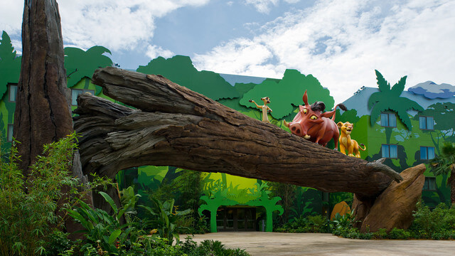 Art of Animation é um dos hotéis mais lindos dentro da propriedade Disney.