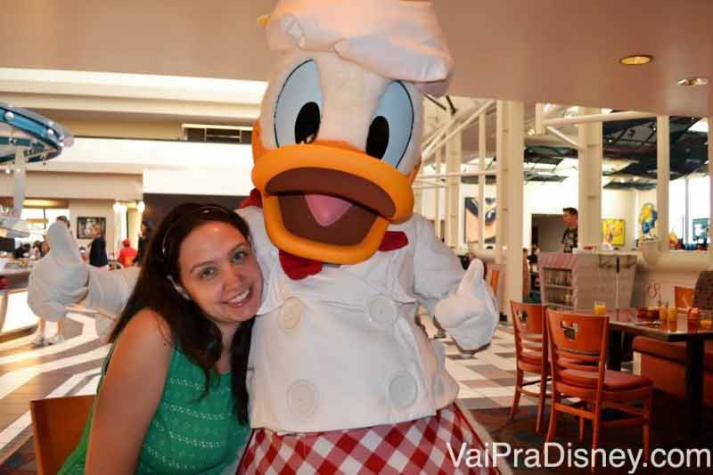 Donald cozinheiro, tão fofo!