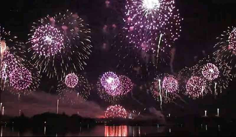 Show de ano novo no Magic Kingdom