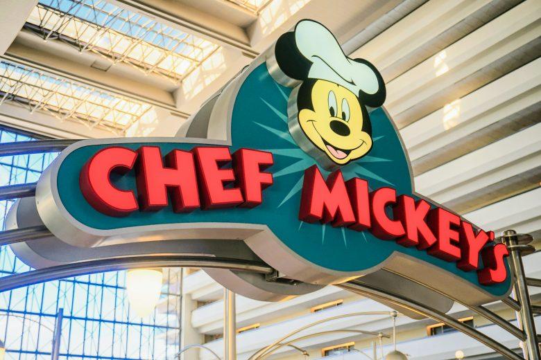 Fachada do Chef Mickey's, que vai reabrir para o jantar