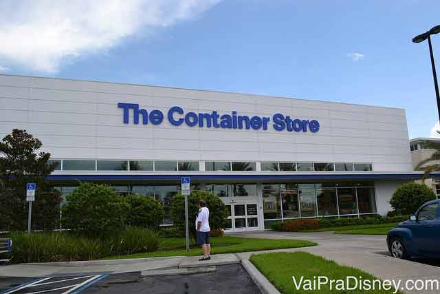Container Store ao lado do Mall at Millenia