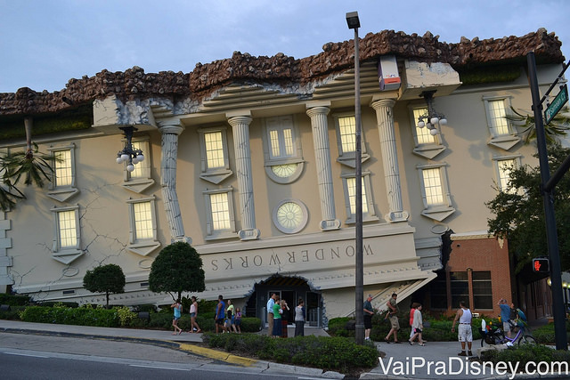 Fachada do WonderWorks
