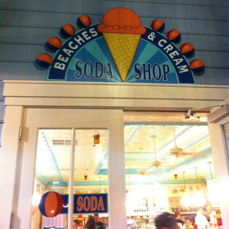 Beaches & Cream no Disney's Beach Club