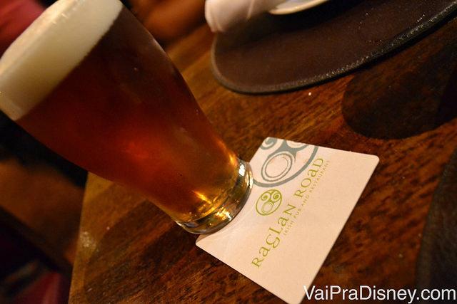 Um pint de cerveja no Raglan Road