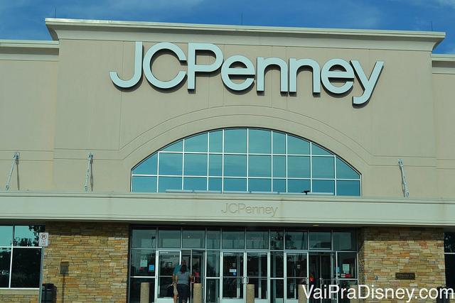 JCPenney, umas das lojas favoritas da minha mãe no The Loop