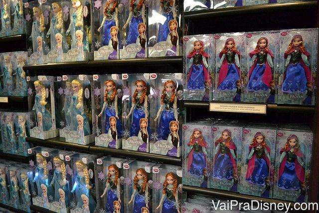 Produtos de Frozen encontrados no Wandering Oaken's Trading Post