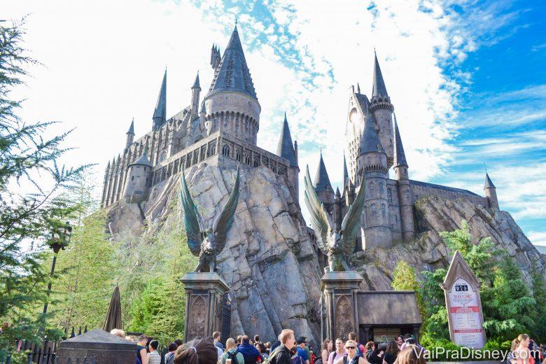 As atrações do Harry Potter tomam um bom tempo do seu dia nos parques da Universal. Leve isso em conta na hora de montar o roteiro.