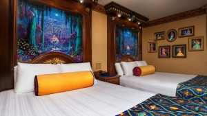 Quarto da realeza no Port Orleans Riverside