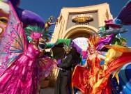 O carnaval da Universal.