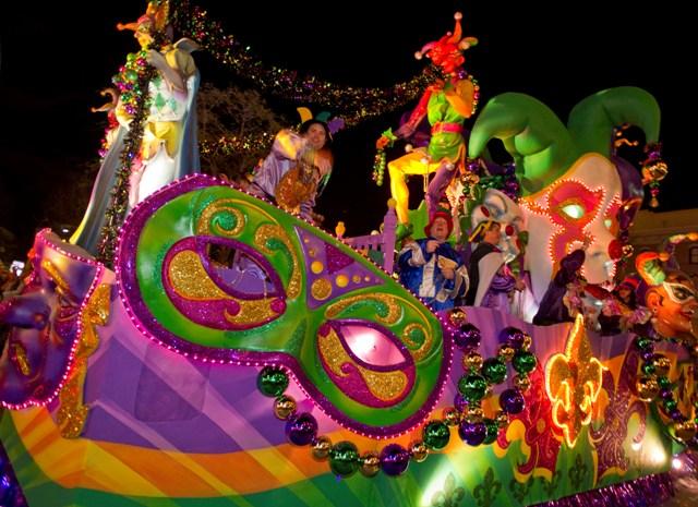 Mardi Gras ainda está rolando na Universal em abril!