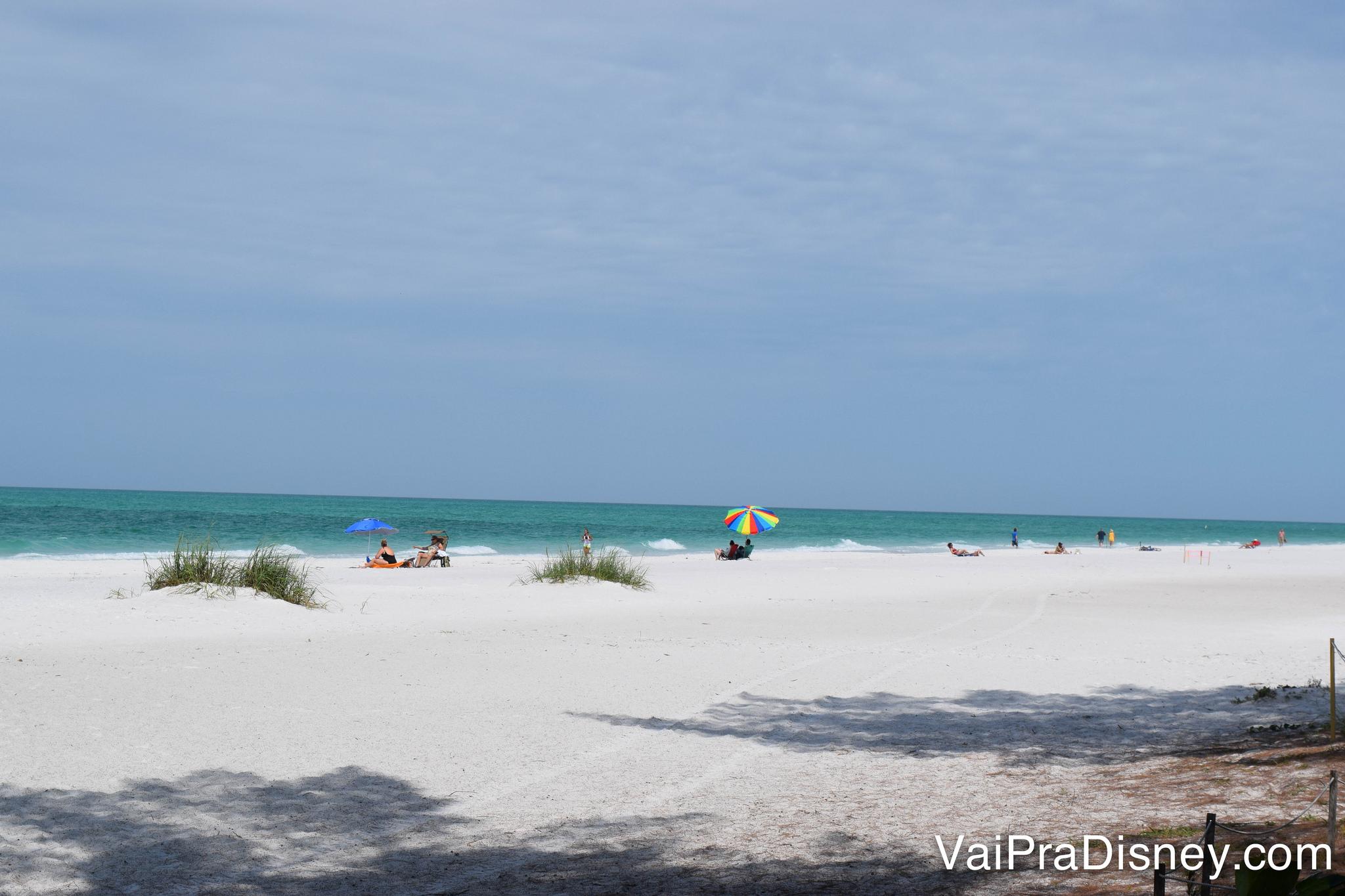 Em agosto, o calor da Flórida ainda está a todo o vapor. Perfeito para quem quer curtir uma praia por lá.