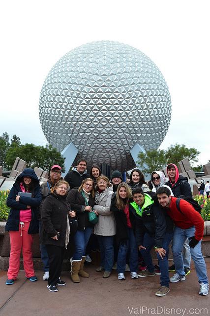 Última viagem em grupo grande que o Fe fez com a família dele (só uma parte está na foto). Ele foi o líder do grupo, mas só porque eu não consegui tirar férias para ir também. rs :P