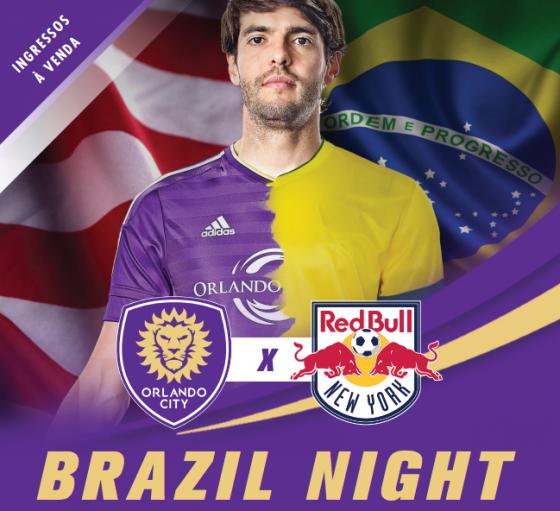 Imagem de divulgação da noite brasileira lá em Orlando.