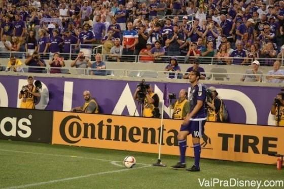Kaká jogando para o Orlando City.