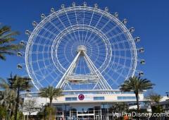 Se vai até o I-Drive 360, aproveite para ir também no Orlando Eye.
