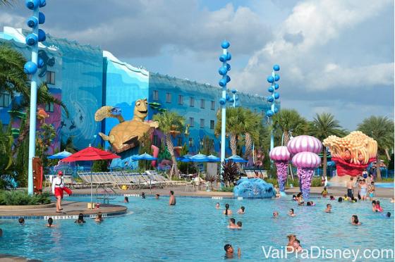 Além de curtir os lindo os lindos hotéis, os hóspedes da Disney ainda tem mais essa vantagem.