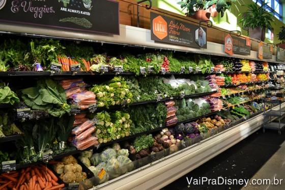 Whole Foods tem como proposta trazer alimentos de alta qualidade e bem fresquinhos para a casa da gente!