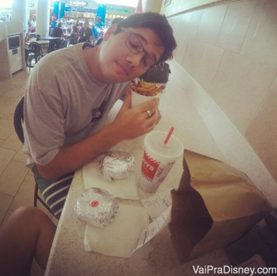 Apaixonado pela batata frita do Five Guys