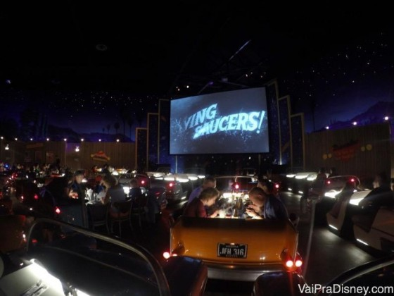 Restaurante Sci Fi Dine-In no Hollywood Studios